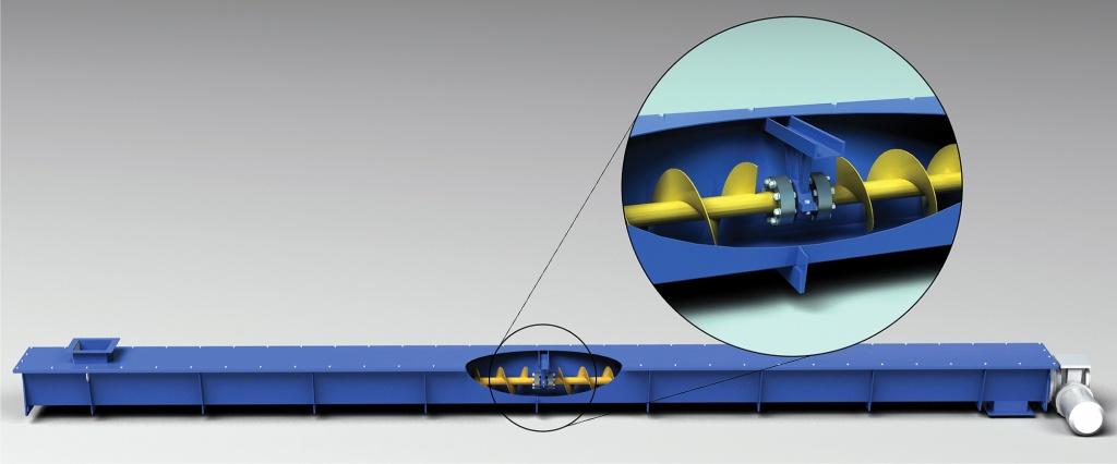 Промежуточные опоры на шнековые транспортеры фольксваген транспортер купить у официального дилера