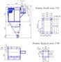 Фильтр КФЕ96 производства АО «СПЕЙС-МОТОР» (с вентилятором и бункером нестандартной формы)