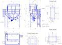 Фильтр КФЕ144А6 производства АО «СПЕЙС-МОТОР» (на эстакаде с шлюзовым питателем и пылевой задвижкой)