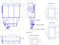 Фильтр КФЕ72Б производства АО «СПЕЙС-МОТОР» (без эстакады с шлюзовым питателем и пылевой задвижкой)